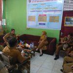 Wakil Bupati Deli Serdang Kunjungi SMPN 3 Percut Sei Tuan/11/10/2021 (Ridin)